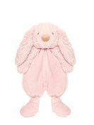 Teddykompaniet - Lolli Bunny Pink Security Blanket - 26cm