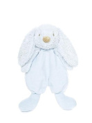 Teddykompaniet - Lolli Bunny Blue Security Blanket - 26cm