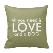 ComiDog Love Pillow - All you need is love and a dog Covers 18