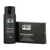 Hair Loss Shock Treatment Set Plant Placenta 10 vials + Shampoo 250 ml. Nirvel