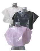 Agenda Disposable Shoulder Capes Pk 100 Black