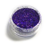 Dark Purple Laser Eye Shadow Loose Glitter Dust Body Face Nail Art Party Shimmer Make-Up