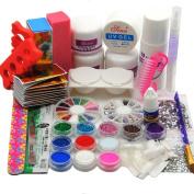 Acrylic Nail Powder And Useful Tools Professional Useful Salon Set
