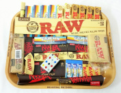 RAW Gift Set Large Metal Rolling Tray New Deal, Gift for you or your loved ones by MakBros