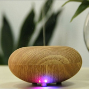 Careoy 12W Air Humidifie Grain Ultrasonic Aroma Diffuser Aromatherapy Office Purifier Wood Shallow Wooden-Grain Size 130 * 130 * 95 mm Mist Maker