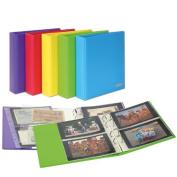 Lindner S3540PK-4 PUBLICA M colour Universalalbum für Postkarten/Fotos mit 10 geteilten, beidseitig bestückbaren Folienblättern-Spring
