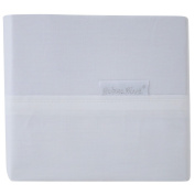 Bubba Blue White 3 Piece Cot Sheet Set