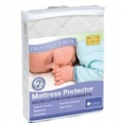 Protect A Bed Quilted Cotton Bassinette Mattress Protector