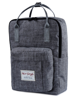 [HotStyle Basic Classic] Bestie Cute Nappy Bag Backpack for Mom (18 Litres), DarkGrey