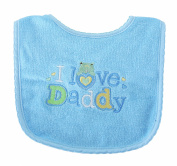 Babyco I Love Daddy Bib Blue