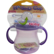Nuby Basic Neck Twin Handle Cup Purple