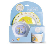 Peter Rabbit 3 Piece Melamine Dinner Set