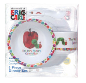 The Very Hungry Caterpillar 5 Piece Dinner Set