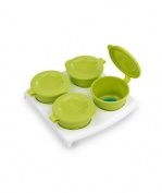 Closer To Nature Pop Up Freezer Pots and Tray Green