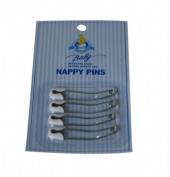 Blue Bunny Nappy Pins