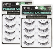 (2 Pack) ARDELL Professional Natural Multipack Demi Wispies Black
