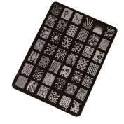 Koly® DIY Nail Stamping Printing Plate Manicure Nail Art Decor Image Stamps Plate