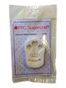 Prince of Wales Feathers - Welsh Theme Cake Silicone Icing Mould for Cake and Cupcake Decoration by FPC