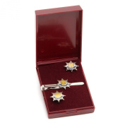 royal anglians cufflink and tiebar giftset, regimental, military giftware and accessories