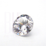 Be You White Cubic Zirconia AAA Quality 1 mm Star Cut Round Shape 1000 pcs loose gemstone