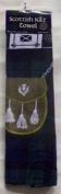 Scottish Kilt Towel Black Watch Tartan
