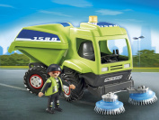 Playmobil City Action Cleaning Street Cleaner Toy