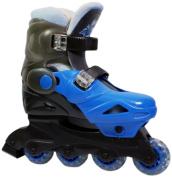 Stinger Adjustable Inline Skates Size 1-3.5 Uk Medium Childrens - Blue