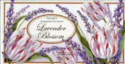 Saponificio Artigianale Fiorentino Lavender Blossom Bath Soap Set of Three 130ml
