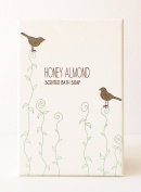 Honey Almond Scented Bath Soap