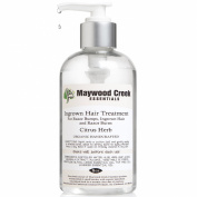 Maywood Creek Essentials Ingrown Hair Treatment for Women & Men - 240ml Organic Citrus Herb Formula for Razor Bumps, Razor Burn & Ingrown Hairs - Purifies, Disinfects & Soothes the Skin
