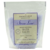 STRESS LESS by Aromafloria BATH SALT PACKET 130ml BLEND OF LAVENDER, CHAMOMILE, AND SAGE for UNISEX ---