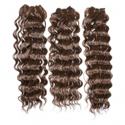 Emmet 46cm Synthetic Deepwave Hair Extension 3pcs/lot 100g/pc