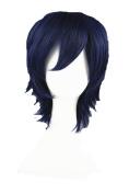 High Quality Short Anime Costume Wigs Synthetic Wig