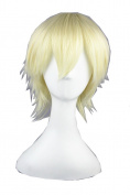 Short Anime Harajuku Synthetic Wigs Halloween Wig