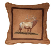 HiEnd Accents Elk New Lodge Pillow