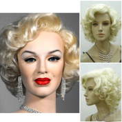 Marilyn Costumes Wig Women Short Curly Sexy Wig Hair Wig Girls