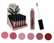 Set of 6 Colours Madly MATTE Lipgloss Bold & Vivid Colour Matte Lipgloss Set #1