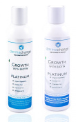 DermaChange Hair Growth Shampoo and Conditioner Set With Vitamins - Make Hair Grow Hair Fast - With Biotin To Support Regrowth - Reduce Thinning and Hair Loss - For Men and Woman