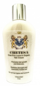 CHETESA Frizz-Free Leave-in Organic Hair Cream for All Hair Types & Textures, Promotes Growth & Thickness for Men & Women SalonQuality, 120ml