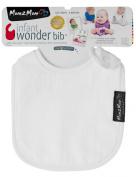 Mum 2 Mum Infant Wonder Bib, White