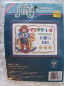 Yippy-I-O Counted Cross Stitch Kit