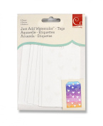 Cosmo Cricket Just Add Watercolour Tags 6pk
