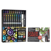 Chameleon 22-Pen Deluxe Set and Tattoo Colour Cards