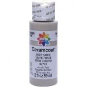 Ceramcoat Acrylic Paint 60ml-Deep Taupe