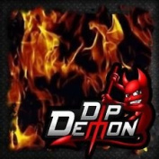Dip Wizard- Dip Demon Flames Hydrographic Film Water Transfer Hydro Dipping