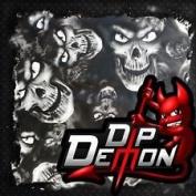 Dip Wizard- Dip Demon Medium Dead Head Skulls Hydrographic Film Water Transfer Hydro Dipping