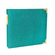Project Life Heidi Swapp Scrapbook Album - 20cm by 20cm - Glitter Teal