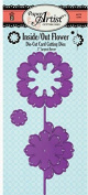 Paper Artist Inside/Out Flower Cutting Dies HOTP5346 Set of Three