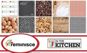 Reminisce - In the Kitchen Scrapbook Papers Set
