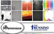 Reminisce - The Running Collection Scrapbook Papers Set